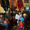 Dressing for the Feast of Saint Sebastian festival, Diriamba, Nicaragua