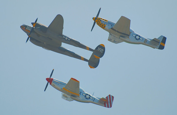 HAZY DAY IN 2012, STILL FLYING 75 YEARS LATER