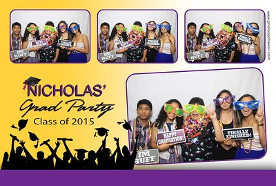 Nicholas' Graduation Party (Fusion Photo Booth)