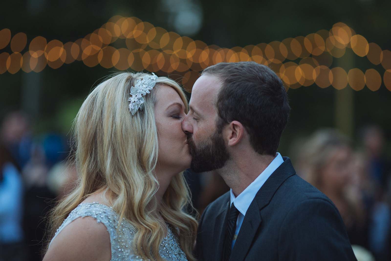 The kiss - Janna and Nick