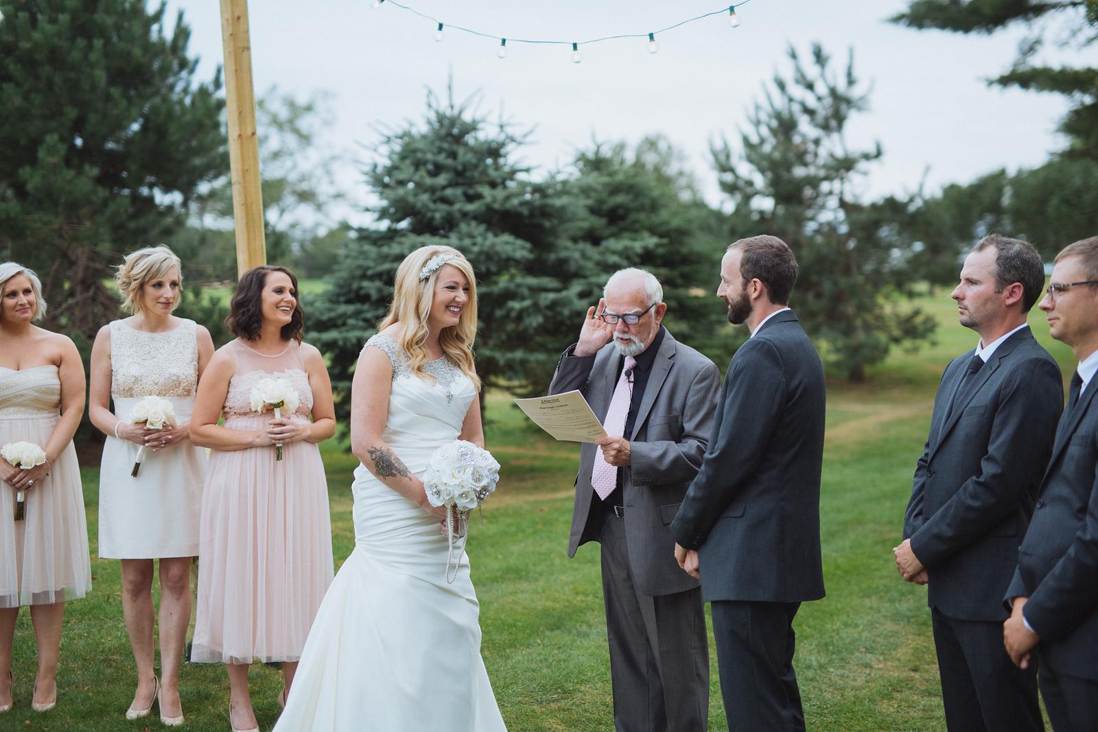 Westfield Golf Club Wedding outdoors