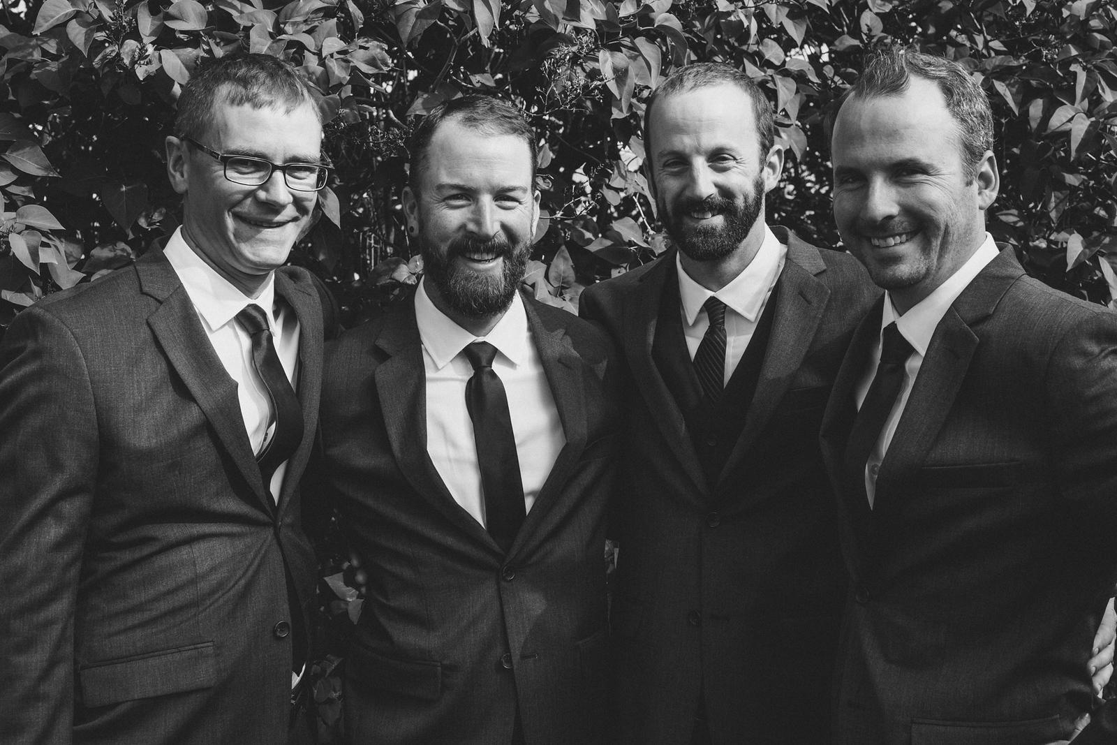 Groomsmen - HomePort B&B Wedding
