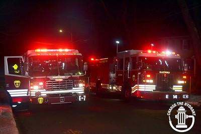 Chimney Fire - 129 Palm St, Hartford, CT -1/26/19