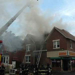 2 Alarm Structure Fire NP - 1258 Broad St, Hartford, CT - 8/25/16