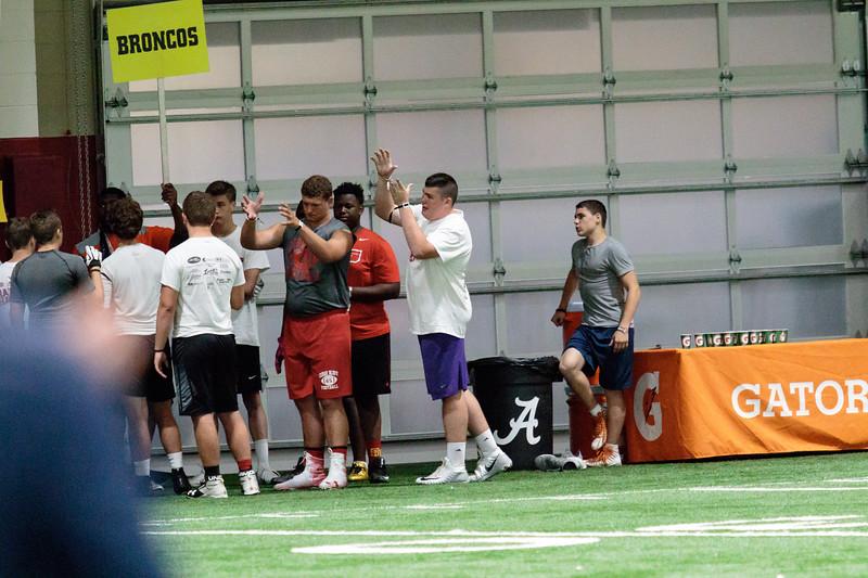 Nick Saban Football Camp 2018