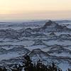 Badlands National Park. January 27,2017.