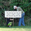 Nic & Rick.....Rick is teaching him a little about shooting & firearms safety
