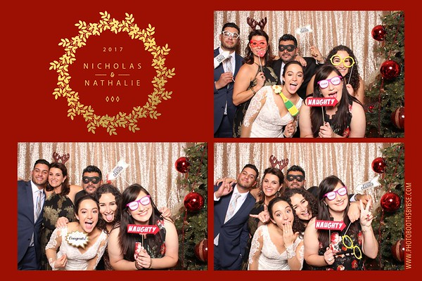 Nick & Nathalie's Wedding Photo Booth