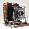 product shot of medium format camera by Nick Shiflet