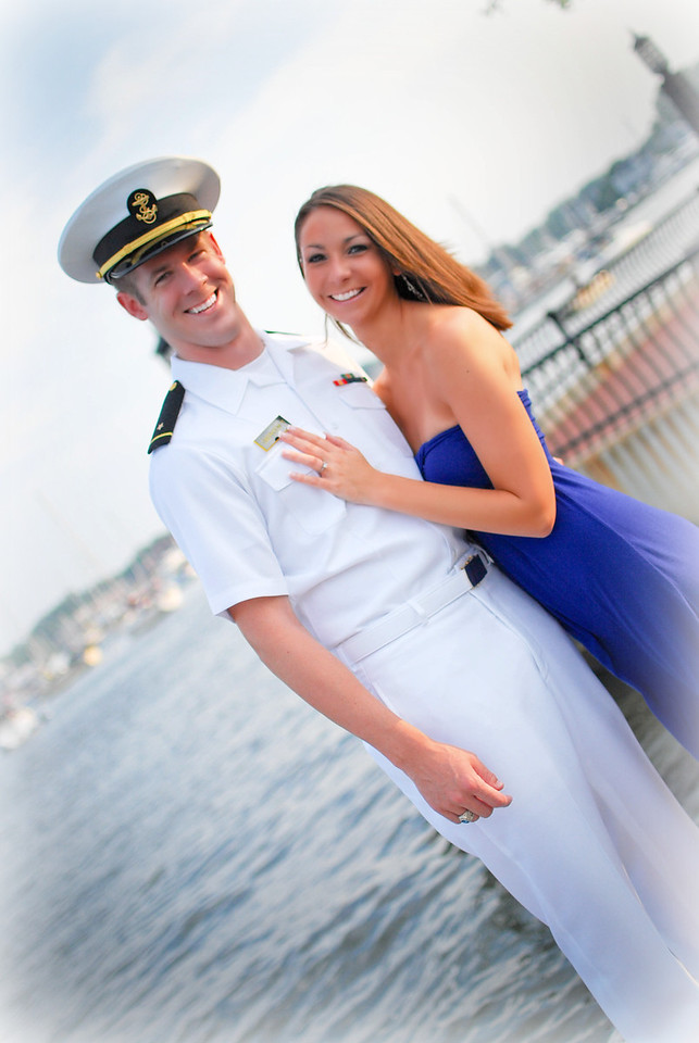 Engagement Photos by Angelina Photography  {Annapolis, Maryland - July 2010}