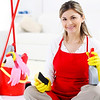 P6.5 / Example of a micropreneur / Choice 7 of 13 / Generic stock photo of micropreneur (housecleaning business)