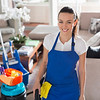 P6.5 / Example of a micropreneur / Choice 6 of 13 / Generic stock photo of micropreneur (housecleaning business)