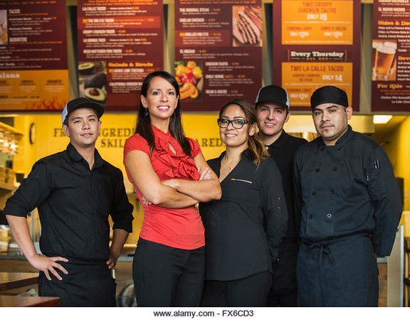 P7.8 / Fast Food Employees.  Choice  9 of 14