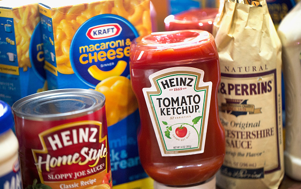 P5.9 / New photo of Kraft / Heinz merger.  Choice 1 of 9