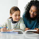 P6.5 / Example of a micropreneur / Choice 9 of 13 / generic stock photo of micropreneur, tutoring business