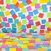 P6.4 / Pick-up photo of post-it notes.  Free for use.
