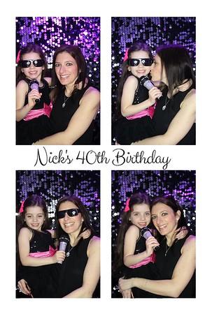 Nick's 40th Birthday, 14th April 2018