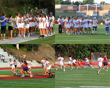 Girls Lacrosse Collage