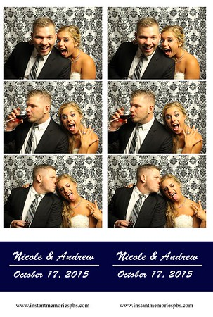Nicole & Andrew's Wedding 10-17-15