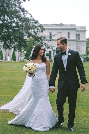 Nicole + Brian   Newport Rhode Island Wedding