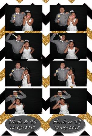 Nicole & TJ's Wedding 12-9-17