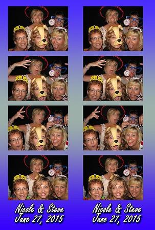 Nicole and Steves Wedding 6.27.15