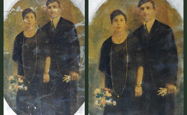 restored family photos