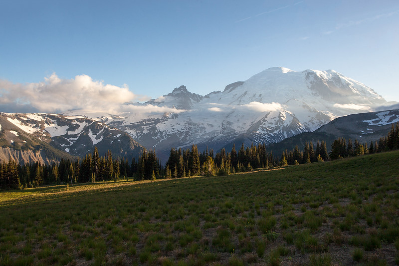 Afternoon Light at Mt. Rainier