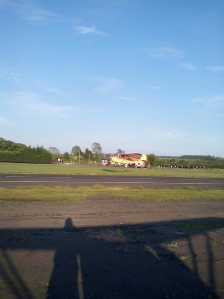 Landing at Eshott