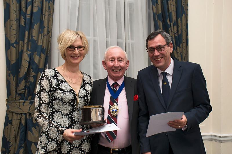Kathryn Hutchings & Paul Wheal - Tiger Club Trophy