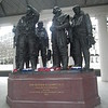 Bomber Command Memorial, opposite the RAF Club.
