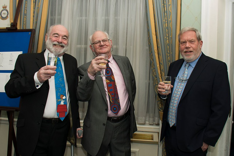 Ron, Geoff & Richard getting in the mood