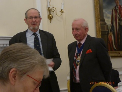 David  Hamilton and Captain Chrisopher Spurrier