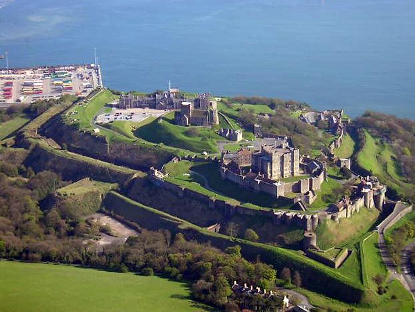 Dover Castle:  2000 years of history.  It never fails to move me.