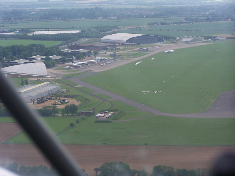 Duxford from the Rans, taken by Don...