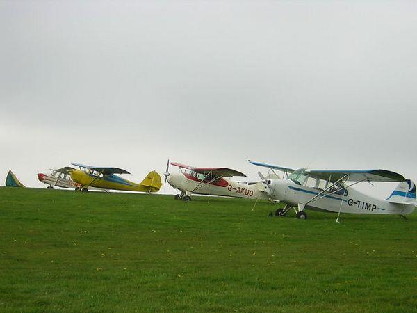 Aeronca Club Picnic at Bodmin, 30th April - 1st May 2005.