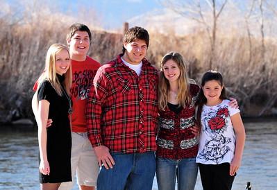 Kasey, Austin, Garrett, Sammi and Krystina