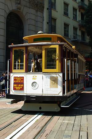 San Francisco Cable Car, Fishermans Wharf