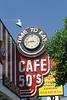 ...ein kleines Cafe in Santa Monica...