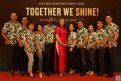 Nielsen Vietnam | Year End Party 2020 instant print photobooth | Chụp ảnh lấy liền in ảnh lấy ngay Tất niên 2020 | WefieBox Photobooth Vietnam
