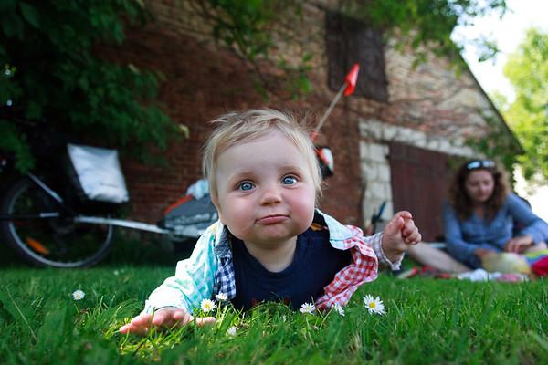 Piknik na trawie