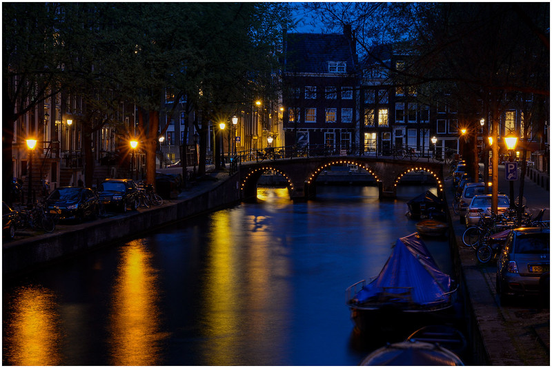 Canal at Blue Light