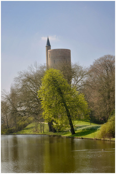 Moat and Old Watch Tower