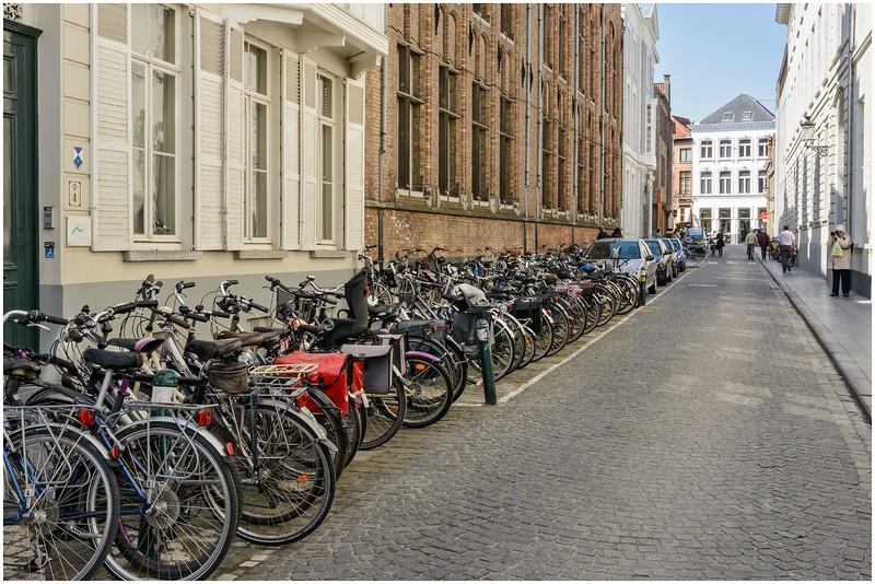 Raw of Bikes