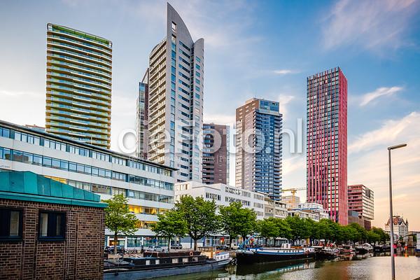 Wijnhaven woontorens Rotterdam