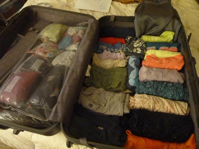 Packing: 11pm, Saturday night
