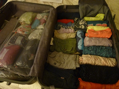 Packing: 11pm, Saturday night