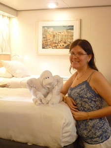 Towel animal time!