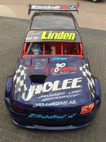 Nieuwe 2 liter Hot Rod Ronald  van der Linden