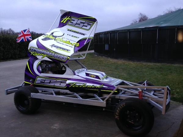 Nieuwe stockcar F1 Frank Schoenmakers